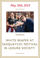 White Reaper in Leisure Society