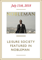 LS Featured in NOBLEMAN