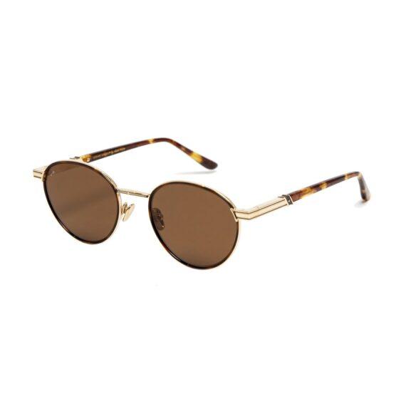 Leisure Society Dryden sunglasses in 18k Gold / Tortoise