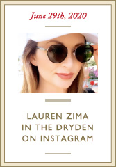 Lauren Zima wearing Leisure Society Dryden sunglasses on Instagram