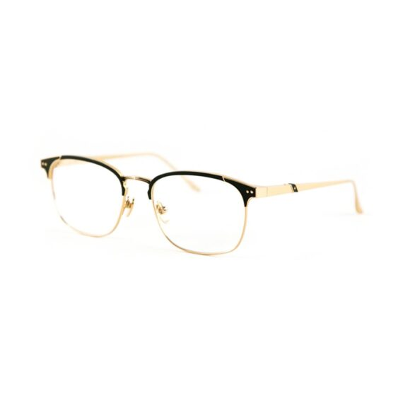 Photo of Club 55 gold frames with brown front enamel