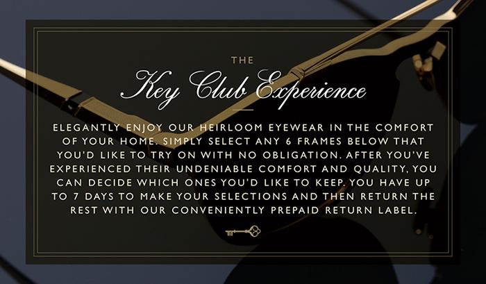 Leisure Society Key Club Experience